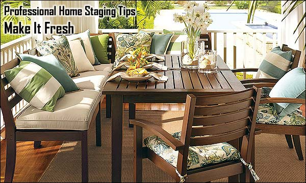 Professional Home Staging Tips: Make It Fresh