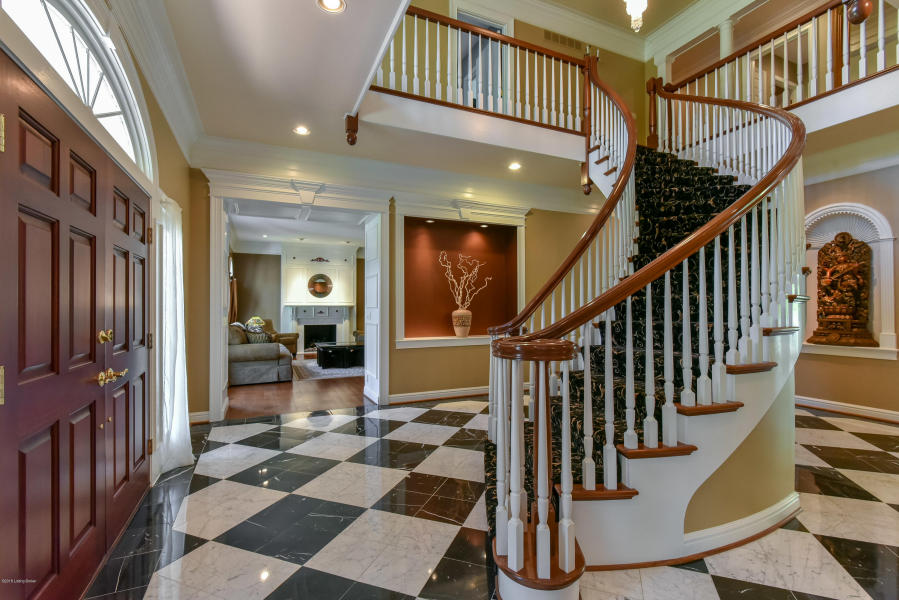 Photo of staircase in Most Expensive Louisville Homes in 2018