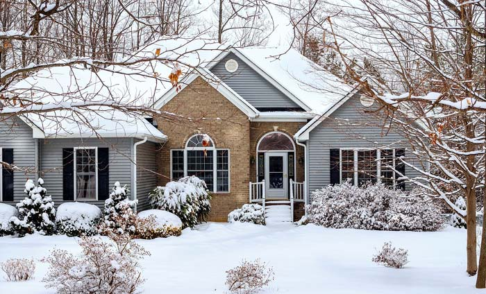 Photo of a home in Winter