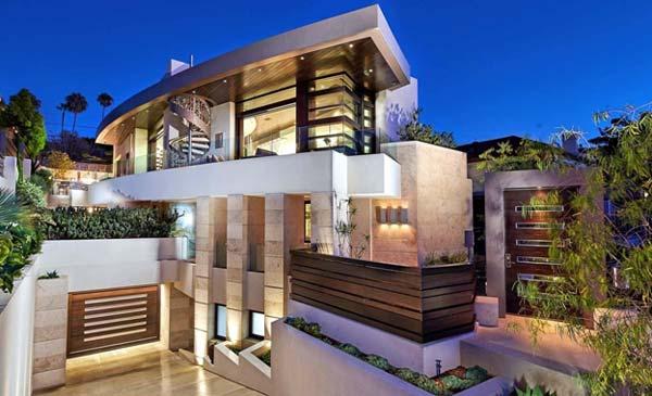 Photo of a modern house design call La Jolla