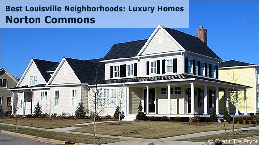 Norton Commons Sutherland - Best Louisville Neighborhoods: Luxury Homes