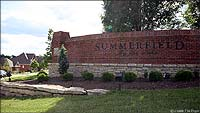 Photo of Entry into Summerfield by the Lake Louisville Kentucky