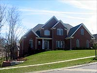 Photo of homes in Wolf Pen Springs Louisville Kentucky